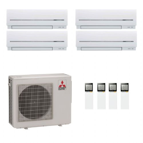 Mitsubishi Electric Air Conditioning MXZ-5D102VA 2 x 3.5 kW + 2 x 5.0 kW Multi Wall Air Conditioning A 240V~50Hz
